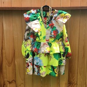 Christoper John Rogers x Target Floral Dress 16/18